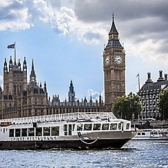 Buyagift - Bateaux Afternoon Tea Cruise on The Thames Gift Experience for 2