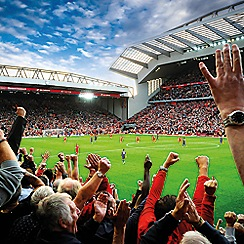 Buyagift - Liverpool FC Stadium Family Tour and The Steven Gerrard Collection Gift Experience for 4