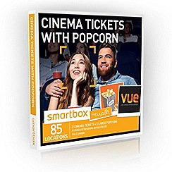 Buyagift - Cinema Tickets with Popcorn Gift Experience for 2
