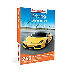 Red Letter Days - Driving Dreams Gift Experience