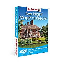 Red Letter Days - Two Night Magical Breaks Gift Experience for 2