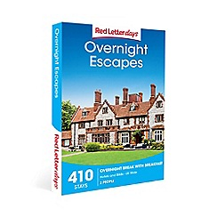 Red Letter Days - Overnight Escapes Gift Experience for 2