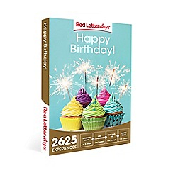 Red Letter Days - Happy Birthday! Gift Experience