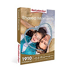 Red Letter Days - Shared Moments Gift Experience for 2