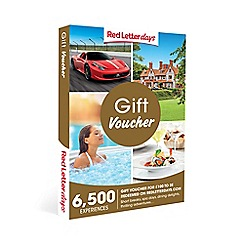 Red Letter Days - Red Letter Days &#250100 Gift Experience Voucher