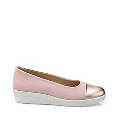 Hotter - Light pink 'Angel' pumps