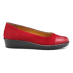Hotter - Bright red 'Angel' pumps