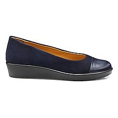 Hotter - Navy 'Angel' pumps