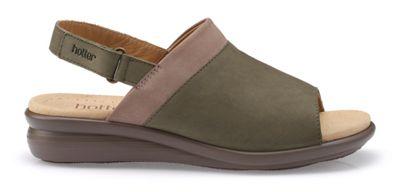Hotter - Fawn 'Augusta' peep toe sandals