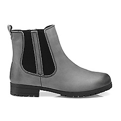 Hotter - Dark grey 'Beau' chelsea boots