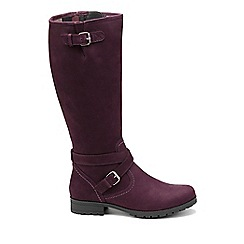 Hotter - Plum 'Belle' knee high boots