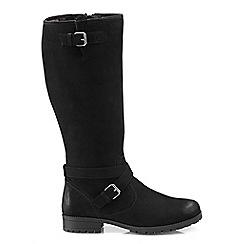 Hotter - Near black 'Belle' knee high boots