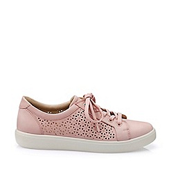 Hotter - Light Pink 'Brooke' Lace-Up Shoes