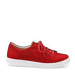 Hotter - Dark Orange 'Brooke' Lace-Up Shoes