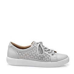 Hotter - White 'Brooke' Lace-Up Shoes