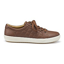 Hotter - Dark tan 'Brooke' lace-up shoes