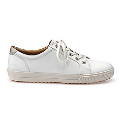 Hotter - Ivory 'Brook' lace-up shoes