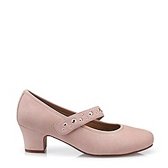 Hotter - Light Pink 'Charmaine' Mid Heel Shoes