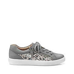 Hotter - Grey 'Chase' wide fit lace-up shoes