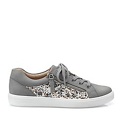 Hotter - Grey 'Chase' lace-up shoes