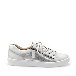 Hotter - White 'Chase' Lace-Up Shoes