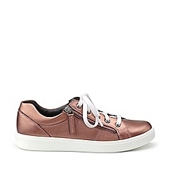 Hotter - Metallic 'Chase' lace-up shoes