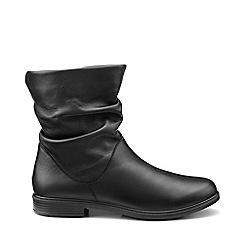 Hotter - Black 'Chester' calf boots