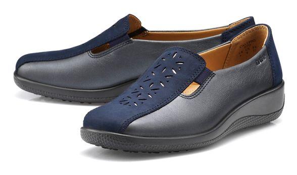 Navy shoes 'Calypso' slip on Hotter TUZ4xdwqvq