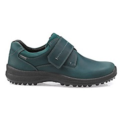 Hotter - Dark green 'Coniston' Gore-Tex shoes