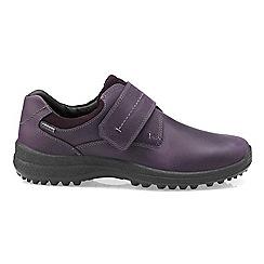 Hotter - Dark purple 'Coniston' Gore-Tex shoes