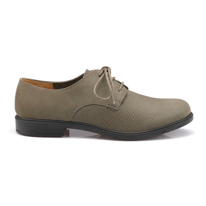 Hotter Lace Up Suede Shoes