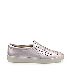 Hotter - Light pink 'Daisy' slip-on pumps