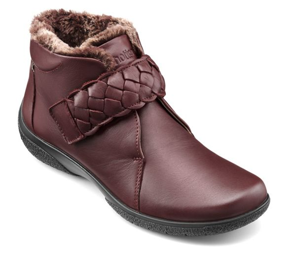 Hotter Maroon boots Hotter 'Daydream' ankle Maroon rrfnxg