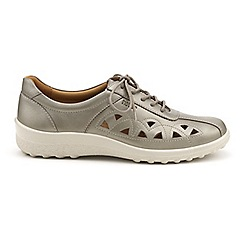 Hotter - Metallic 'Daytime' lace-up shoes