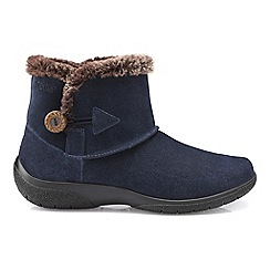 Hotter - Navy 'Desire' ankle boots