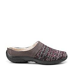 Hotter - Wine 'Devotion' slip on slippers