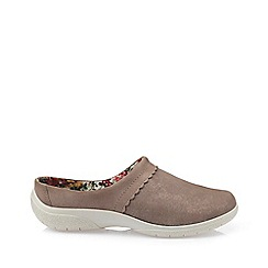 Hotter - Fawn 'Devotion' mule slippers