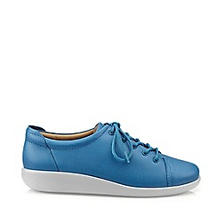 Hotter - Dark Blue 'Dew' Wide Fit Lace-Up Shoes