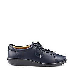 Hotter - Navy 'Dew' lace-up shoes