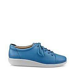 Hotter - Blue 'Dew' lace-up shoes
