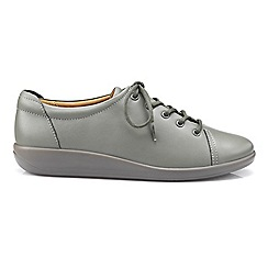 Hotter - Grey 'Dew' lace-up shoes