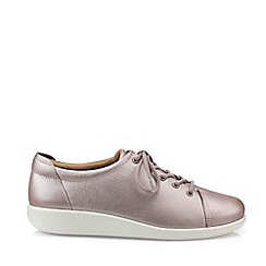Hotter - Lilac 'Dew' Lace-Up Shoes
