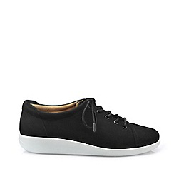 Hotter - Near Black 'Dew' Lace-Up Shoes