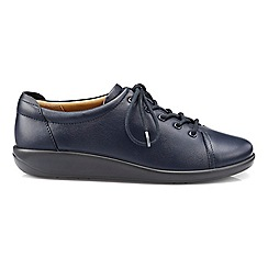 Hotter - Navy 'Dew' EEE lace-up shoes