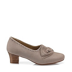 Hotter - Fawn 'Donna' court shoes