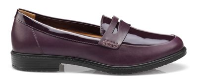 Hotter - Plum 'Dorset' loafers Fashionable and eye-catching shoes