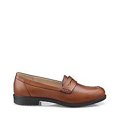 Hotter - Dark tan 'Dorset' loafers