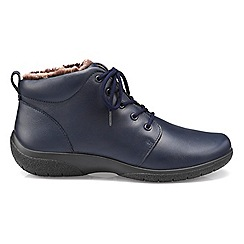 Hotter - Navy 'Ellery' ankle boots
