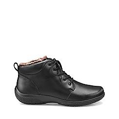 Hotter - Black 'Ellery' ankle boots