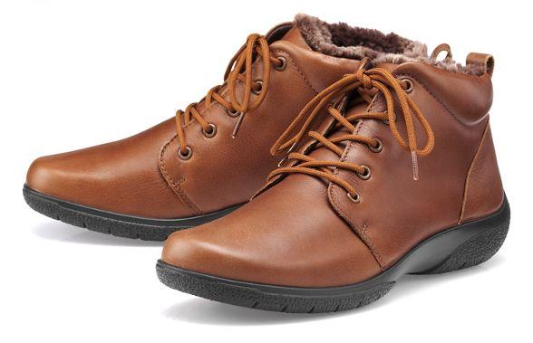 tan Dark ankle boots Hotter 'Ellery' EEE f5nIwxO